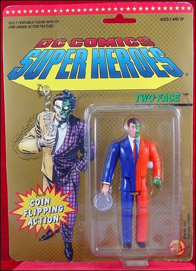 Dc Comics Super Heroes Two Face Jan 1989 Action Figure By