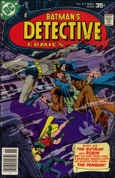 Detective Comics (1937) 473-A by DC