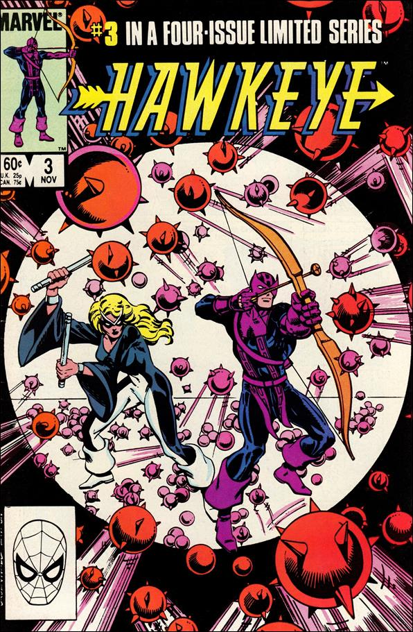 Hawkeye (1983) 3-A by Marvel