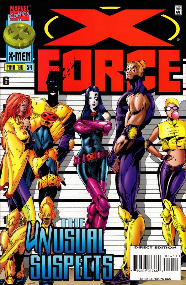 X-Force (1991) 54-A by Marvel
