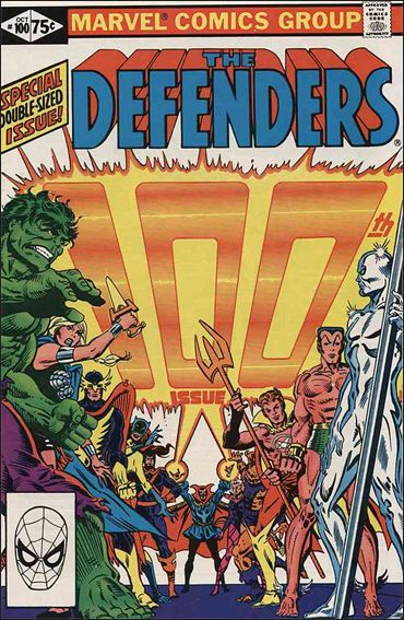 Defenders (1972) 100-A by Marvel