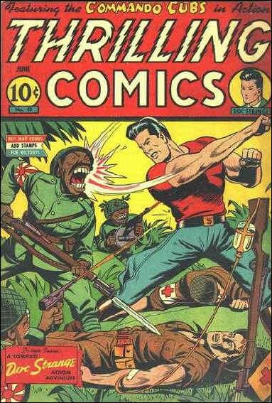 Thrilling Comics (1940) 42-A by Standard