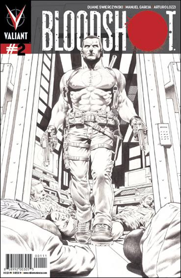 Bloodshot (2012) 2-C by Valiant Entertainment