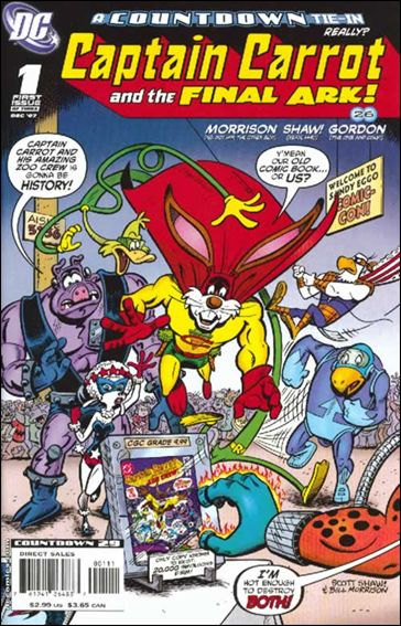 Captain Carrot and the Final Ark 1-A by DC