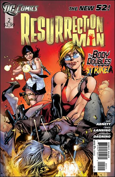 Resurrection Man (2011) 2-A by DC