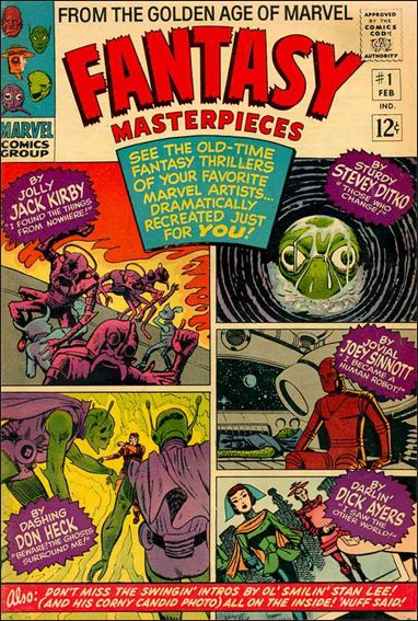Fantasy Masterpieces (1966) 1-A by Marvel