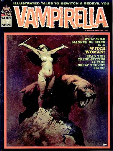 Vampirella 7-A by Warren