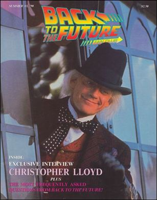 Back to the Future Fan Club Magazine 3-A