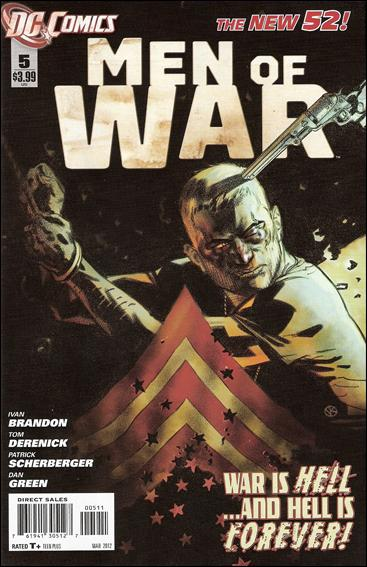 Men of War (2011) 5-A by DC