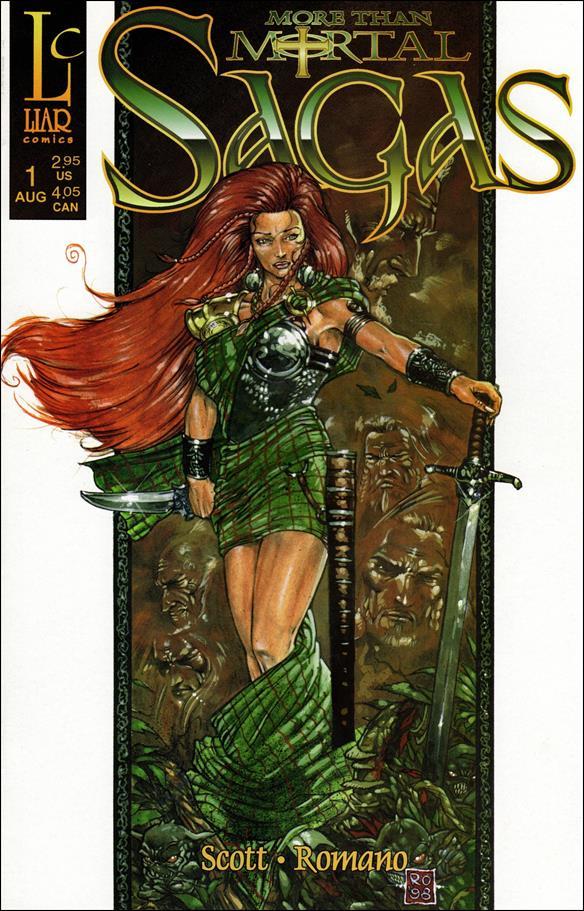 More Than Mortal: Sagas 1-A by Liar Comics