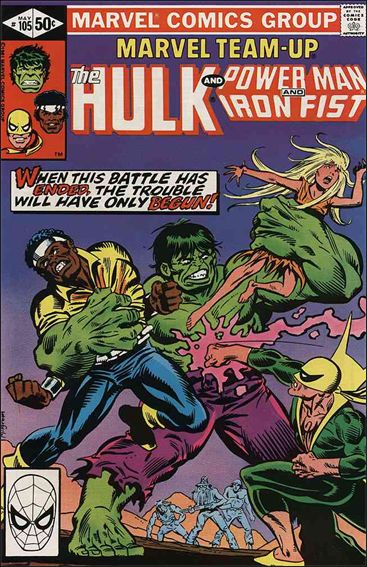 Marvel Team-Up (1972) 105-A by Marvel