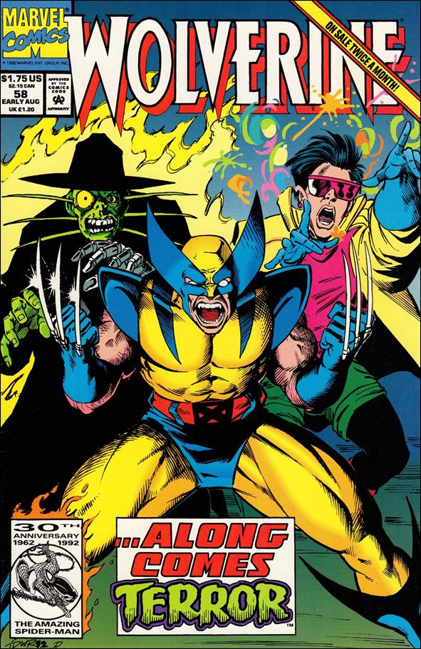 Wolverine (1988)  58-A by Marvel