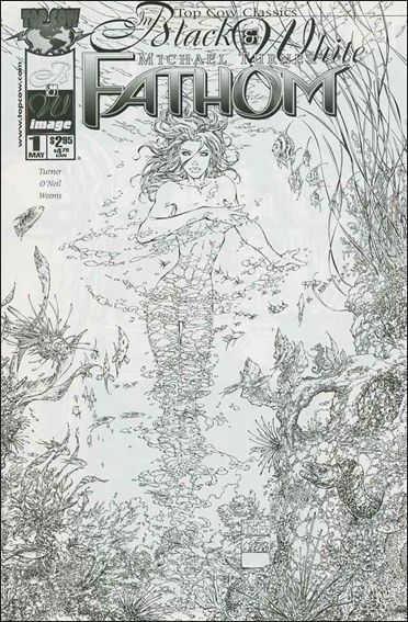 Top Cow Classics in Black and White: Fathom 1-A by Top Cow