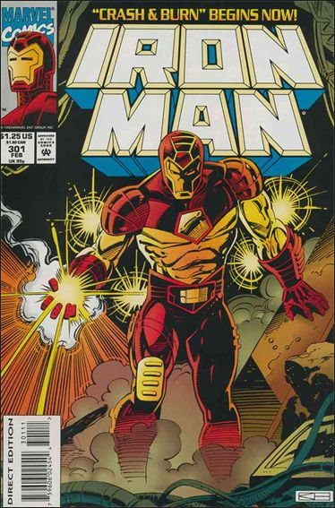 Iron Man (1968) 301-A by Marvel