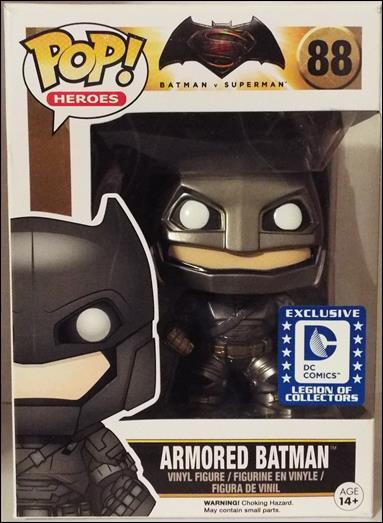 POP! Heroes Armored Batman by Funko
