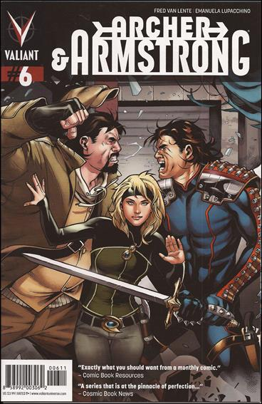 Archer & Armstrong (2012) 6-A by Valiant Entertainment