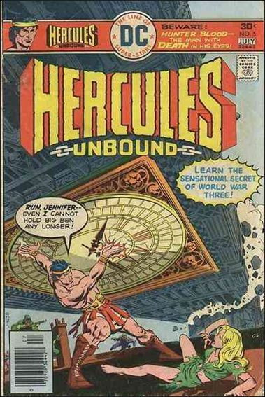 Hercules: Unbound 5-A by DC