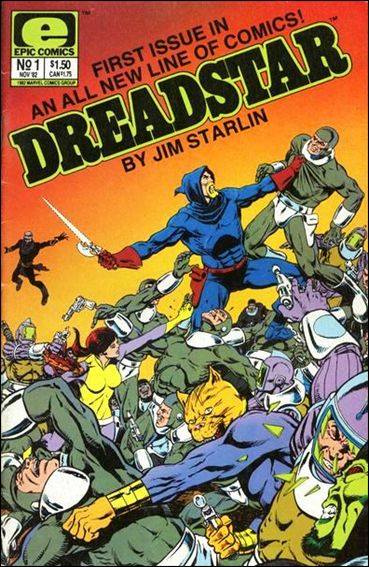 Dreadstar (1982) 1-A by Epic
