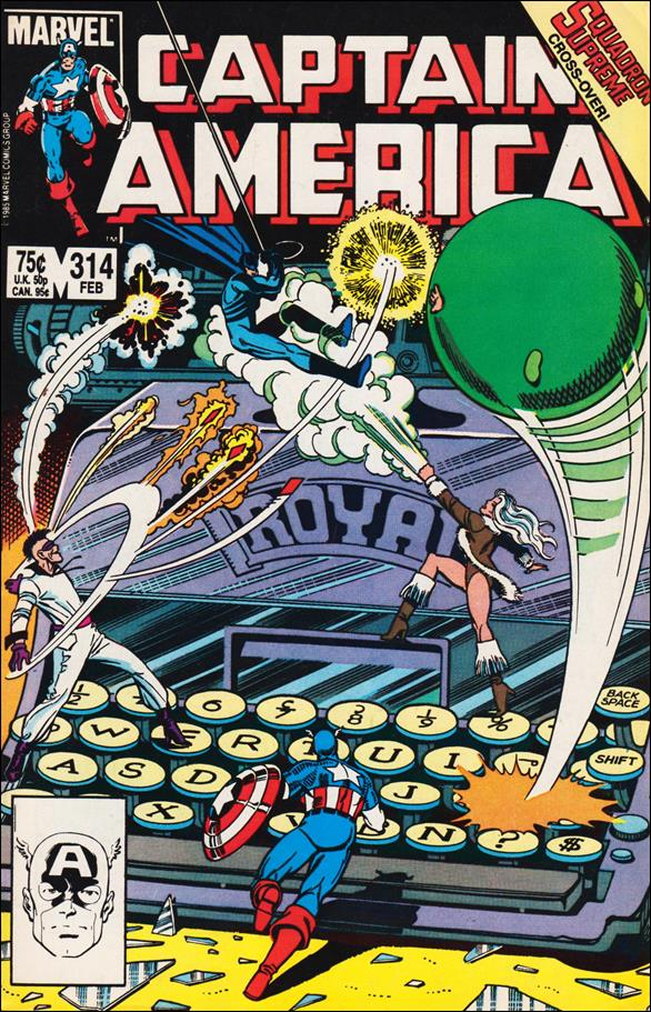 Captain America (1968) 314-A by Marvel