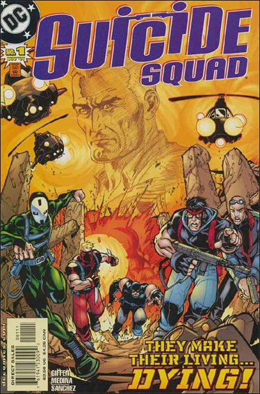 Suicide Squad (2001) 1-A by DC
