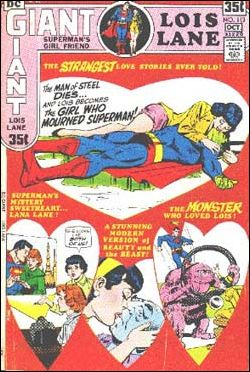 Superman's Girl Friend Lois Lane 113-A by DC