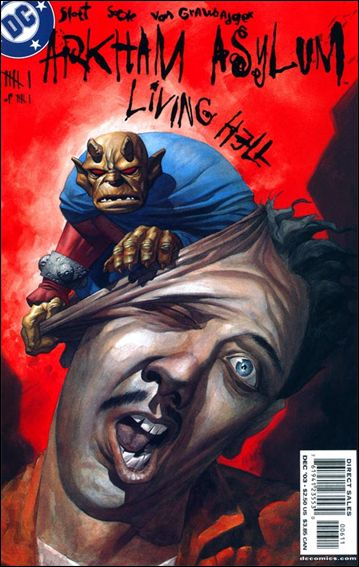 Arkham Asylum: Living Hell 6-A by DC