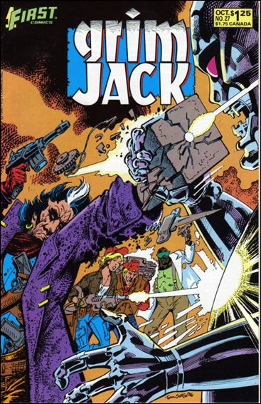 Grimjack 27-A by First