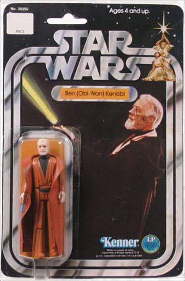"Star Wars 3 3/4"" Basic Action Figures (Vintage) Ben (Obi-Wan) Kenobi (SW 12 Back Gray Hair) by Kenner"