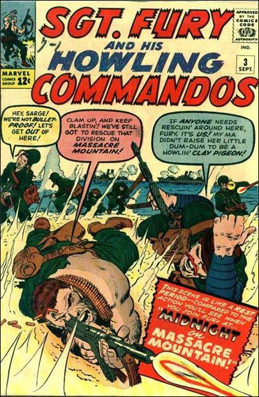 Sgt. Fury and His Howling Commandos 3-A by Marvel