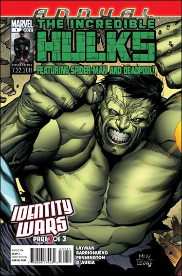 Incredible Hulks Annual 1-A by Marvel