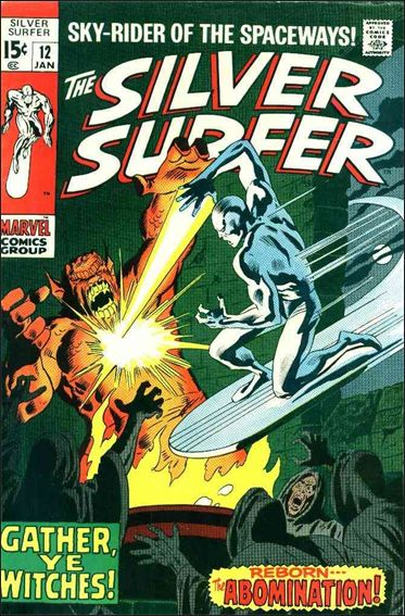 Silver Surfer (1968) 12-A by Marvel