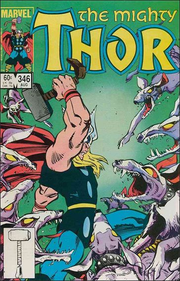 Thor (1966) 346-A by Marvel