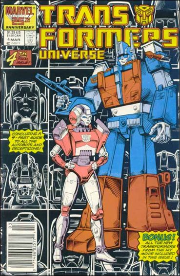 Transformers Universe (1986) 4-A by Marvel