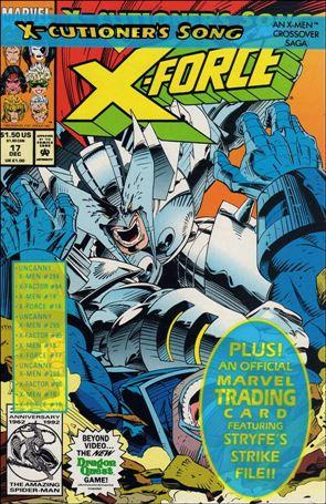X-Force (1991) 17-A