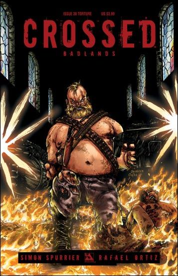 Crossed: Badlands 38-C by Avatar Press