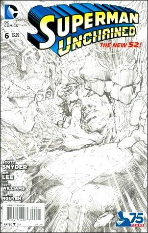Superman Unchained 6-L by DC