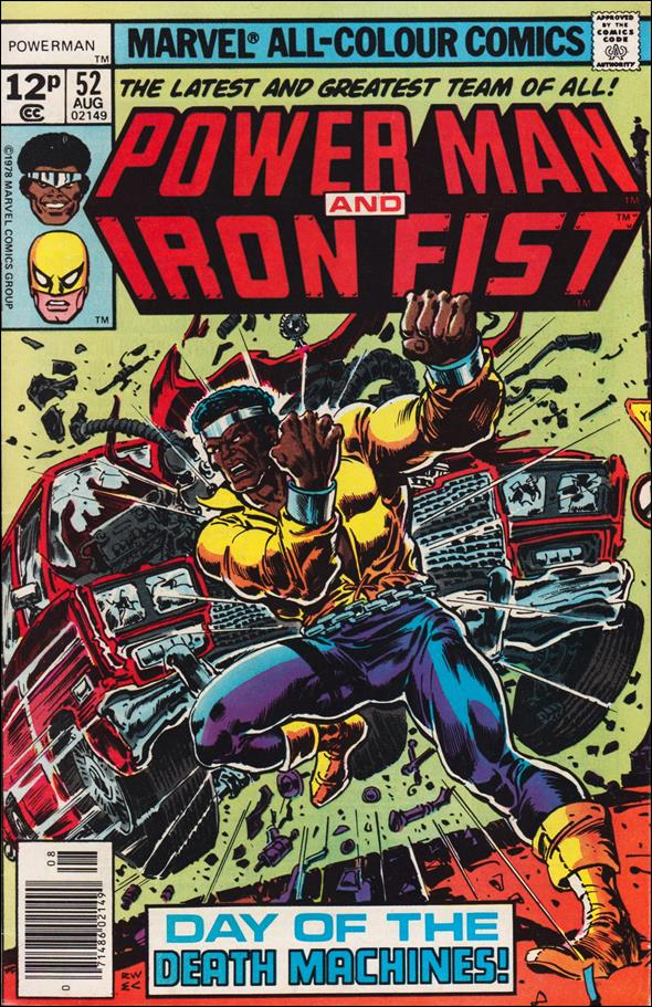 Power Man and Iron Fist (1978) 52-B by Marvel