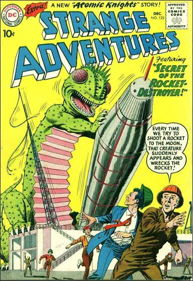 Strange Adventures (1950) 123-A by DC