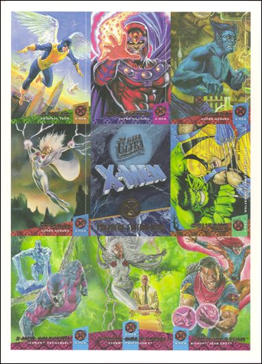 1994 Fleer Ultra X-Men (Promo) nn1-A by Fleer