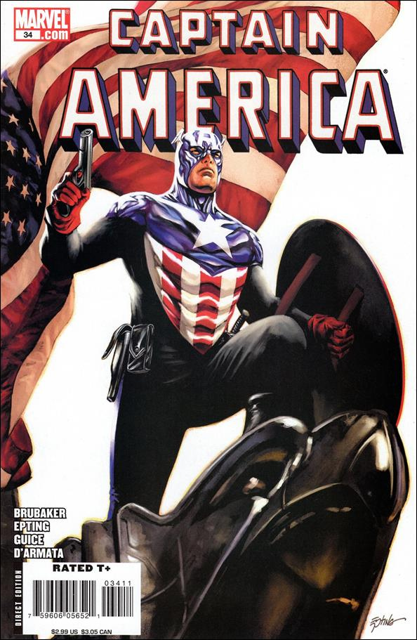 Captain America (2005) 34-B by Marvel