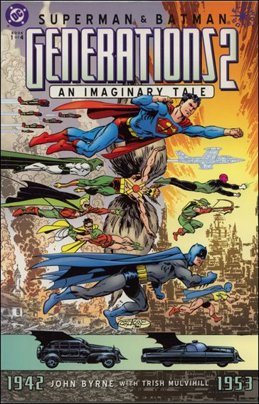 Superman &amp; Batman: Generations II 1-A by DC