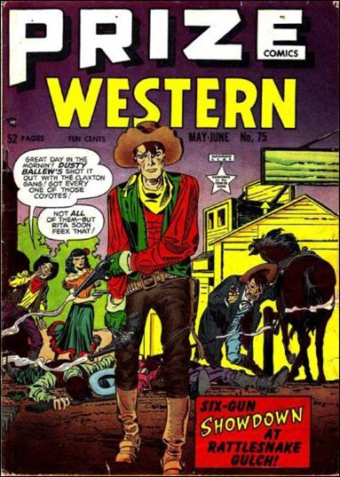 Prize Comics Western 75-A by Feature