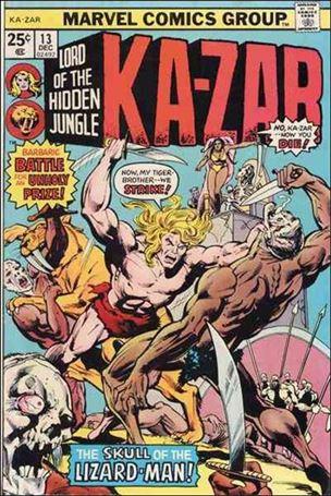Ka-Zar (1974) 13-A