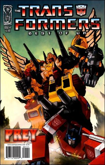 Transformers: Best of UK: Prey 1-A by IDW