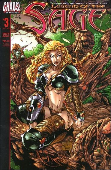 Legend of the Sage 3-A by Chaos! Comics