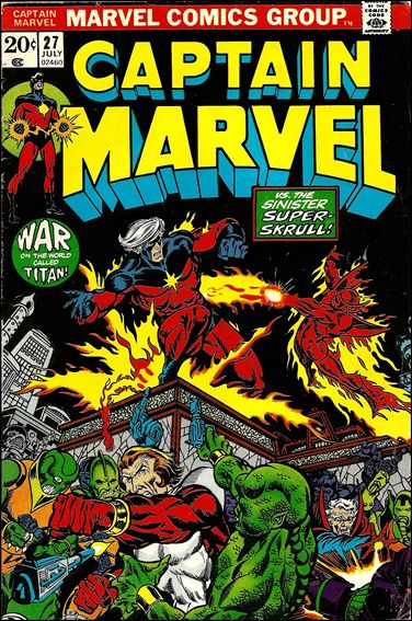 Captain Marvel (1968) 27-A by Marvel