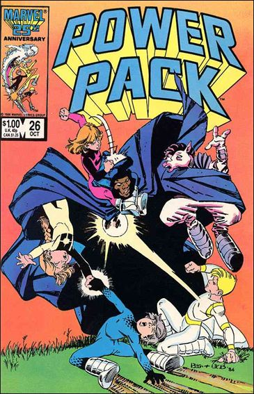 Power Pack (1984) 26-A by Marvel