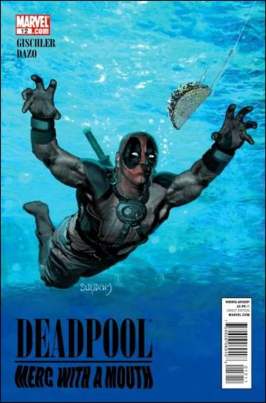 Deadpool: Merc with a Mouth 12-A by Marvel