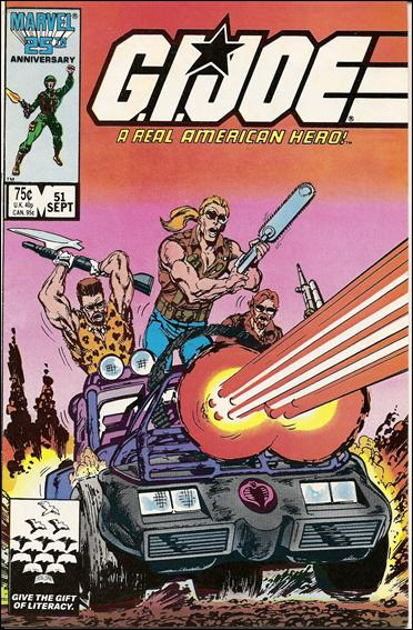 G.I. Joe: A Real American Hero 51-A by IDW