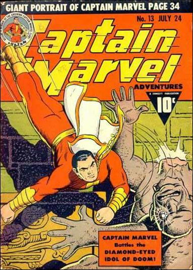 Captain Marvel Adventures 13-A by Fawcett
